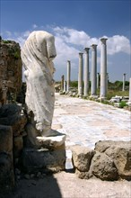 The gymnasium, Salamis, North Cyprus.