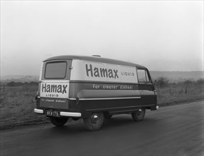 Austin delivery van, South Yorkshire, 1962.  Artist: Michael Walters