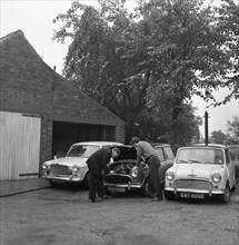 Auto Improvements, Mexborough, South Yorkshire, 1965. Artist: Michael Walters