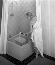 The Imperial bath and shower unit from Heatons of Rotherham, South Yorkshire, 1966. Artist: Michael Walters
