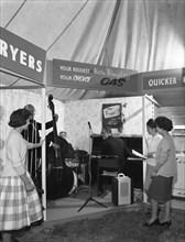 East Midlands Gas Board promotional roadshow, Darfield, near Barnsley, South Yorkshire, 1961.  Artist: Michael Walters