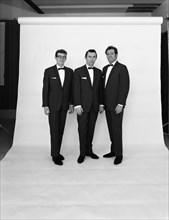 The Scott Trio, publicity shot, 1968.  Artist: Michael Walters