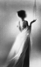 Glass shower, 1963. Artist: Michael Walters
