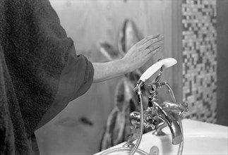 Flowmaster taps advert, 1963.  Artist: Michael Walters
