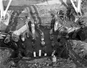 Excavations at Rossington Colliery near Doncaster, South Yorkshire, 1963. Artist: Michael Walters