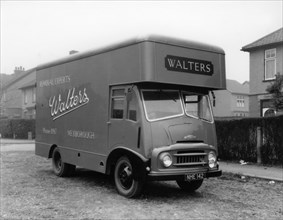 Austin FE 1957 removal van, belonging to Walters Removals, Mexborough, South Yorkshire, 1957. Artist: Michael Walters