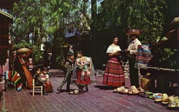 Olvera Street, Los Angeles, California, USA, 1953. Artist: Unknown