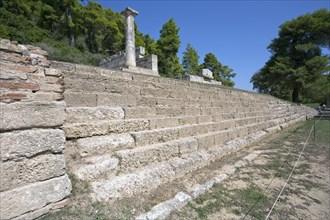 Treasuries in Olympia, Greece. Artist: Samuel Magal