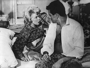 Rock Hudson and Doris Day, American actors, c1959-c1964 Artist: Unknown