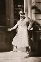 Enrico Caruso, Italian opera singer, USA, 6 November, 1909. Artist: Unknown