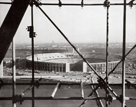 The Olympic Stadium from the Bell Tower, Berlin, Germany, c1936-c1936. Artist: Unknown