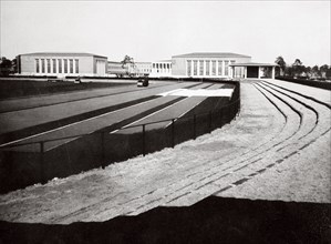 The home of German sport and adjacent swimming hall, Berlin, Germany, 1936. Artist: Unknown