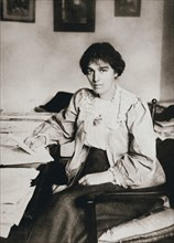 Mabel Tuke, Joint Honourary Secretary of the Women's Social and Political Union (WSPU), c1908. Artist: Unknown