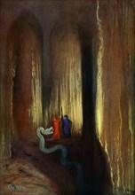 'Dark Cavern', 1906. Artist: Unknown