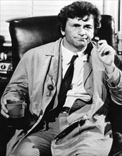 Peter Falk in 'Columbo', c1971-c1978. Artist: Unknown