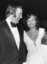 British television personality David Frost and actress Hylette Adolphe, London, 1974. Artist: Unknown