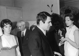 Geraldine Chaplin, Robert Hossein and Princess Ira von Fürstenberg, c1967. Artist: Unknown