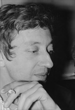 Serge Gainsbourg, French singer and songwriter, c1960s(?). Artist: Unknown