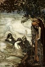 'Illustration from Siegfried and the Twilight of the Gods, 1924.  Artist: Arthur Rackham