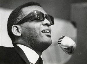 Ray Charles, American musician, Stockholm, Sweden, 1962. Artist: Unknown