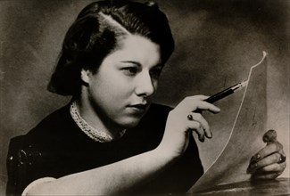 Frances Epstein, Jewish survivor of the Holocaust, c1939. Artist: Unknown