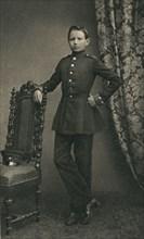 Paul von Hindenburg (1847-1934), as a cadet in Wahlstatt, 1860, (1930s) Artist: Unknown.