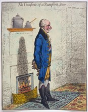 The Comforts of a Rumford Stove, 1800.