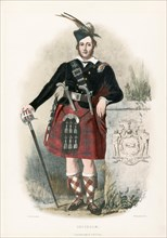 Chisholm, from The Clans of the Scottish Highlands, pub. 1845 (colour lithograph)