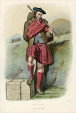 Macalister, from The Clans of the Scottish Highlands, pub. 1845 (colour lithograph)