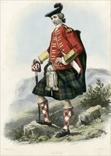 Ulric, from The Clans of the Scottish Highlands, pub. 1845 (colour lithograph)