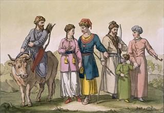Taguri Tatars of the Crimea, c1820s-30s. Creator: D.K. Bonatti (fl. 1720-80).