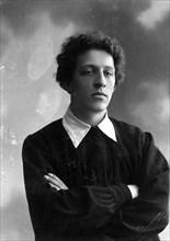 Alexander Blok, Russian poet, c1900s. Artist: Unknown
