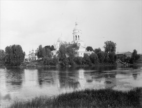 The Saviour Cathedral (the Old Fair Cathedral), Nizhny Novgorod, Russia, 1896. Artist: Maxim Dmitriev
