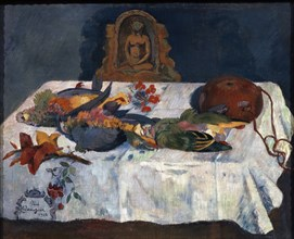 'Still life with Parrots', 1902.  Artist: Paul Gauguin