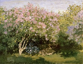 'Lilac in the Sun', 1872-1873.  Artist: Claude Monet