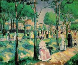 'On the Boulevard', 1903.  Artist: Kazimir Malevich