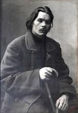 Maxim Gorky, Russian author, c1901-c1902. Artist: Unknown