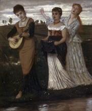 'Spring', 1876.  Artist: Arnold Böcklin