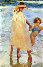 'The Two Sisters', 1909.  Artist: Joaquin Sorolla y Bastida