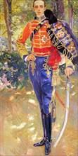 'Portrait of King Alfonso XIII in a Hussar's Uniform', 1907.  Artist: Joaquin Sorolla y Bastida