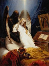 'The Angel of Death', 1851.  Artist: Horace Vernet