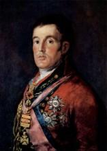 'Portrait of Field Marshal Arthur Wellesley, 1st Duke of Wellington', c1814.  Artist: Francisco Goya