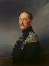 'Portrait of Emperor Nicholas I', (1796-1855), 1852.  Artist: Franz Kruguer