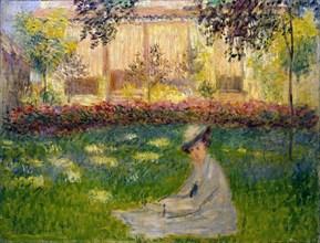 'Woman in a Garden', 1876.  Artist: Claude Monet