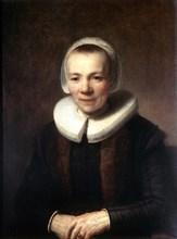 'Portrait of Baartje Martens-Doomer', c1640. Artist: Rembrandt Harmensz van Rijn