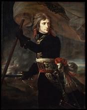 'Napoleon Bonaparte on the Bridge at Arcole', 1797.  Artist: Antoine-Jean Gros