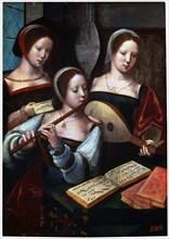 'Musicians', 1530s-1540s. Artist: Unknown Old Master