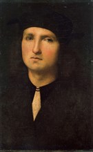 'Portrait of a Young Man', between 1495 and 1500.  Artist: Perugino