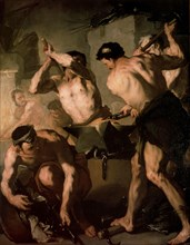 'The Forge of Vulcan', c1660. Artist: Luca Giordano