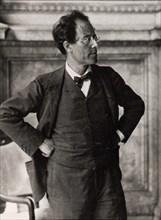 Gustav Mahler, Austrian composer and conductor, 1900s. Artist: Anon